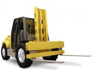 rough terrain forklifts for rent