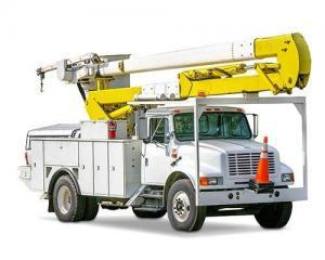 bucket trucks for rent