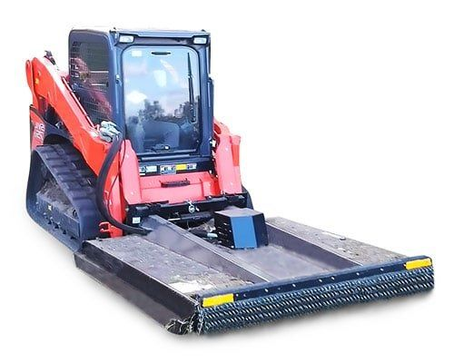skid steer mower attachment