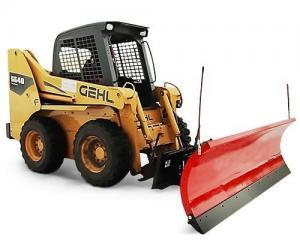 skid steer plows and blades